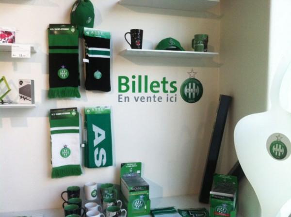 Lettres adhésives Office de tourisme de Saint-Etienne