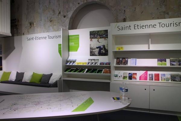 Agencement et décoration Office du Tourisme de Saint-Etienne