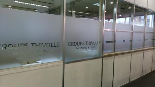 Vitrophanie Groupe THIVOLLE