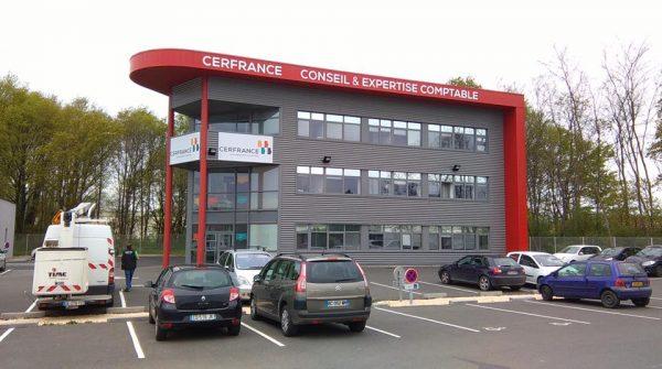 Signalétique nouveau concept Cer France Perreux