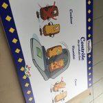 Panneaux illustrants les différentes étapes de fabrication Pasquier