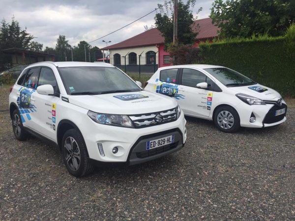 Marquage des véhicules Activ radio