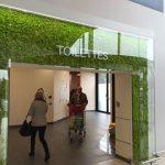 Signalétique des sanitaires d'Auchan Villars