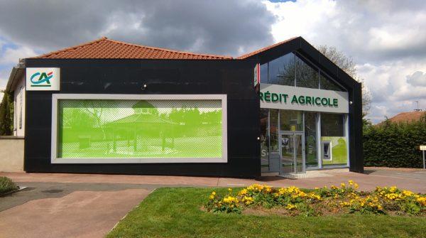 Impression numérique – CREDIT AGRICOLE à St Galmier
