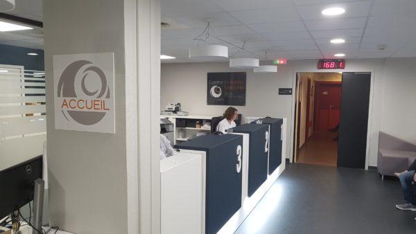 Plexi et Signalétique intérieure – CLINIQUE DU PARC à St Priest en Jarez