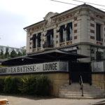 Enseigne en dibond effet alu brossé – LA BATISSE à St Etienne