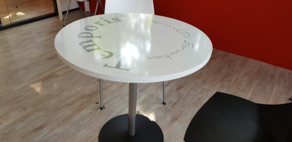 Décor sur table – TEMPORIS à St Chamond