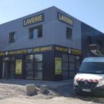 Tôle tablette + adhésifs – AUTO LAVAGE 42 à Andrézieux-Bouthéon