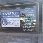 Adhésifs ouverture prochaine – CAP VITAL SANTE à Andrézieux-Bouthéon