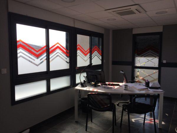 Dépoli sur vitres – KELYPS à Andrézieux-Bouthéon