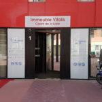 Impression numérique sur dibond – CPAM CAF à St-Etienne