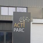 Totem lumineux – ACTIPARC à Andrézieux Bouthéon