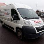 Marquage adhésif sur flotte de 11 véhicules – EUREA – Dept LOIRE
