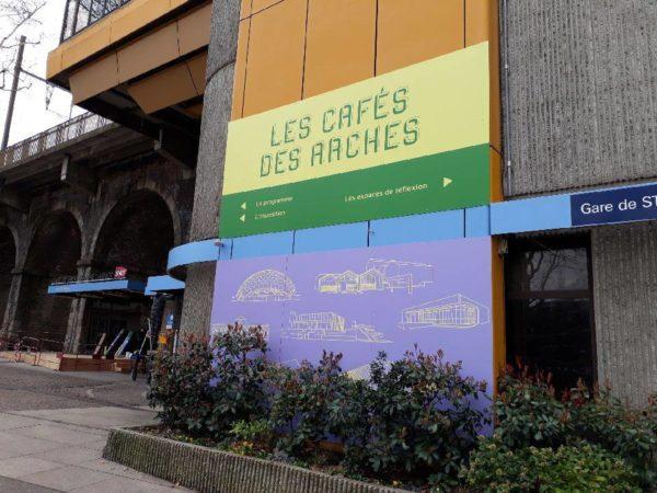 Panneau signalétique – BIENNALE INTERNATIONALE DU DESIGN à St Etienne