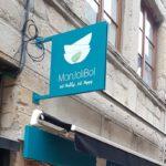 Enseigne drapeau – MON JOLI BOL à St-Etienne
