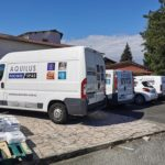 Marquage d'une flotte de véhicule – AQUILUS à Andrézieux-Bouthéon
