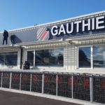 Enseigne lumineuse et tôle adhésivée – GAUTHIER à Cussac sur Loire