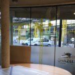 Dépoli et adhésifs sur vitres – CHAZELLE à St-Etienne