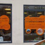 Adhésifs temporaires sur vitrines – KELYPS à St Etienne