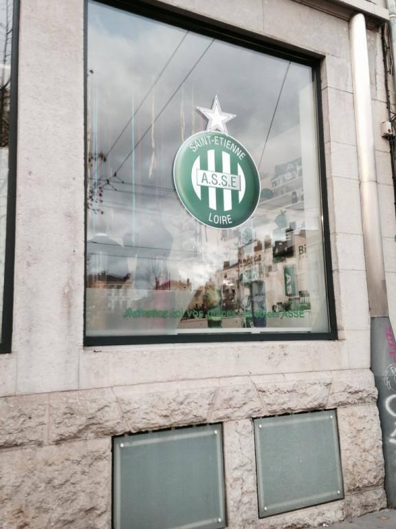 Vitrophanie Office de tourisme de Saint-Etienne