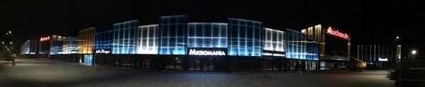 Enseignes lumineuses Micromania / Pizza paï / Pharmacie / Auchan / Jeff de Bruges