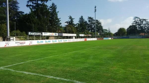 Signalétique terrain de foot ASF Andrézieux-Bouthéon