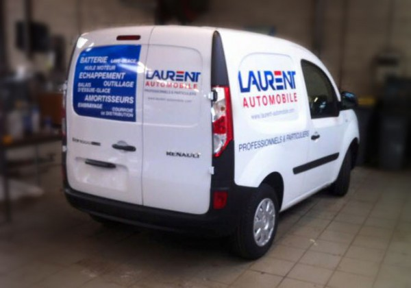 Marquage véhicule Laurent automobile