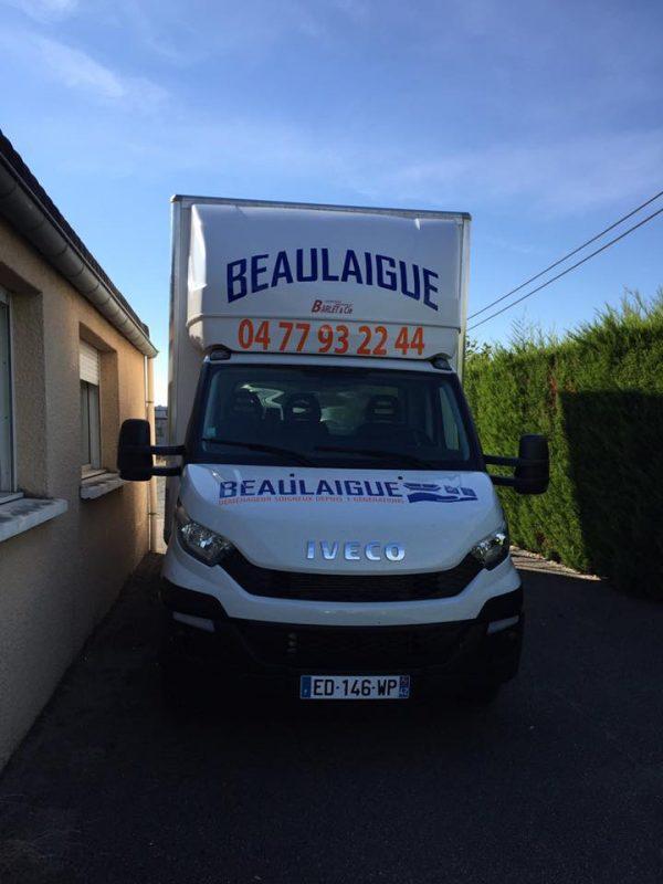 Flotte de véhicule – Camions & Monte-meubles – Beaulaigue Déménagement