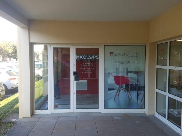 Vitrophanie – KELYPS INTERIM à Meximieux